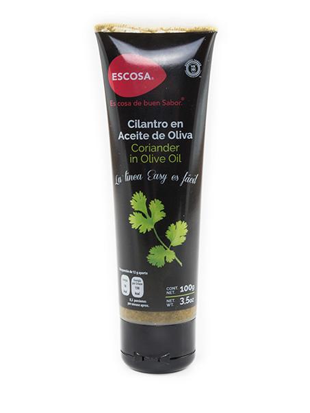 Cilantro en Aceite de Oliva