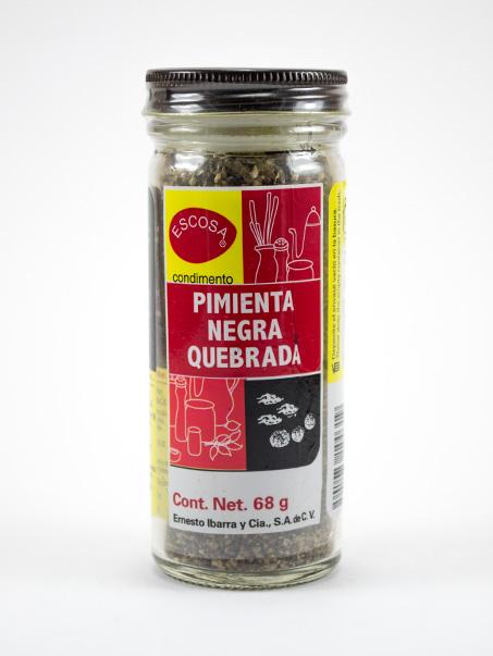 Pimienta Negra Quebrada